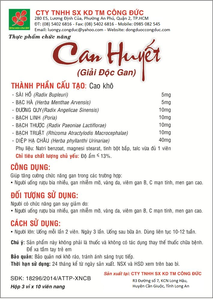 can-huyet